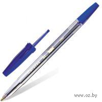 """Ручка шариковая """"Corvina"""" (прозрачная; синий стержень)"""
