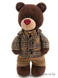 """Мягкая игрушка """"Медведь Choco в пиджаке"""" (35 см)"""