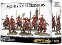 "Набор миниатюр ""Warhammer AoS. Khorne Bloodbound Mighty Skullcrushers"" (83-13)"