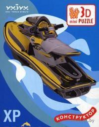 """Сборная модель из бумаги """"XP Sea-DOO (желтый)"""""""
