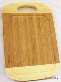 Доска разделочная бамбуковая (30*20*1,5 см, арт. BB101173)
