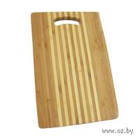 Доска разделочная бамбуковая (30х20х1,8 см)