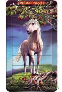 """Пазл магнитный """"Лошадь"""" (32 элемента)"""
