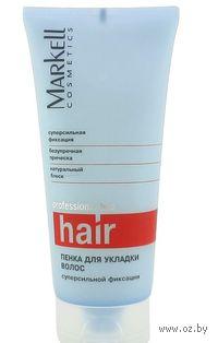 Пенка для укладки волос суперсильной фиксации (200 мл)