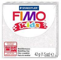 """Глина полимерная """"FIMO Kids"""" (блестящий белый; 42 г)"""