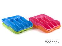 Лоток для столовых приборов пластмассовый (34х26х6 см)