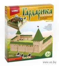 """Сборная деревянная модель """"Гардарика. Крепостная башня"""""""
