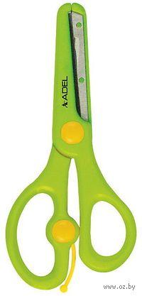 """Ножницы """"Adel"""" с пластиковой защитой (13 см; ассорти)"""