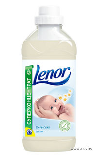 """Концентрат-ополаскиватель Lenor """"Для чувствительной и детской кожи"""" с экстрактом цветов хлопка (2,0 л.)"""