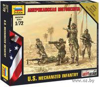 "Набор миниатюр ""Американская мотопехота"" (масштаб: 1/72)"
