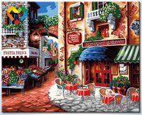 "Картина по номерам ""Итальянский ресторан"" (400x500 мм; арт. HB4050281)"