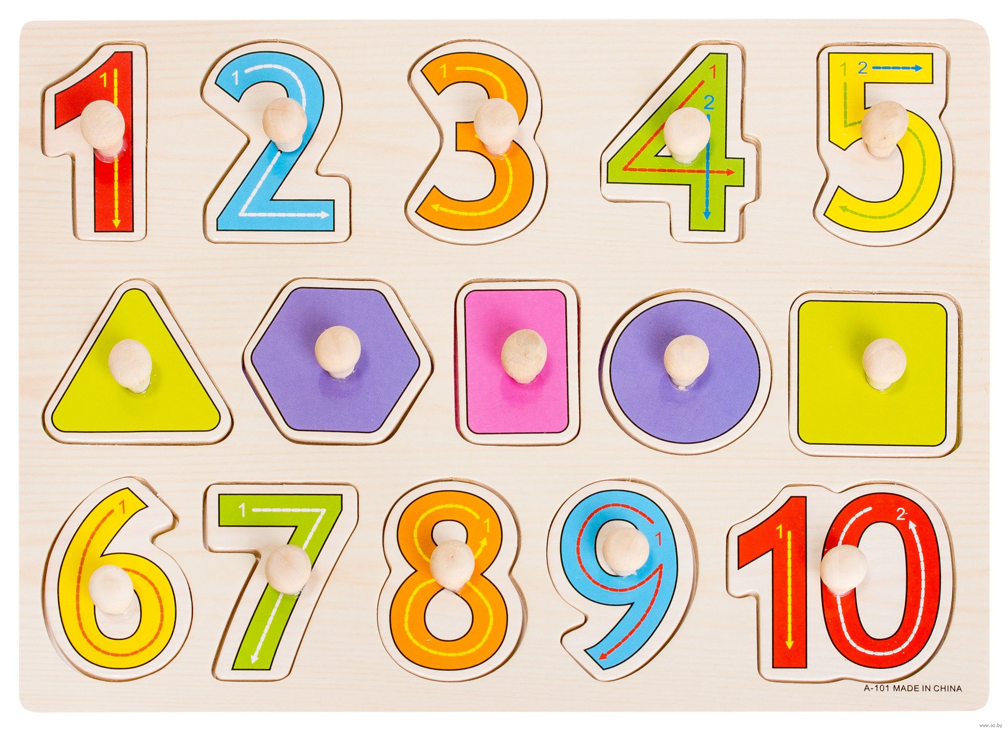 Цифры и геометрические фигуры картинки