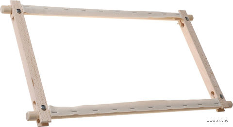 Пяльцы с вращающимися планками (38x30 см) — фото, картинка