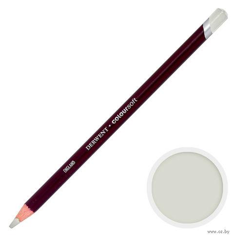 Карандаш цветной Coloursoft C710 (бело-серый)