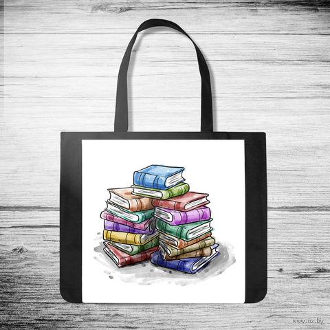 "Сумка-шоппер ""Books"" (арт. 46) — фото, картинка"