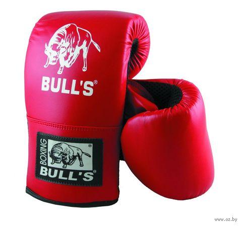 """Перчатки снарядные """"Bull's"""" (M; красные) — фото, картинка"""