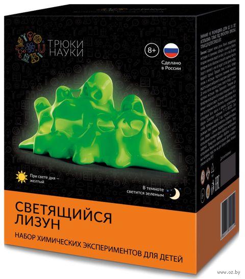 """Набор для опытов """"Светящийся лизун"""" (жёлто-зелёный) — фото, картинка"""
