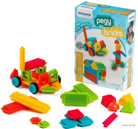 "Конструктор ""Pegy Bricks"" (36 деталей) — фото, картинка"