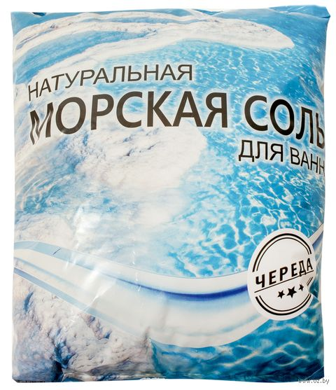 """Соль морская для ванн с экстрактом череды """"Saules Sapnis"""" (1 кг)"""