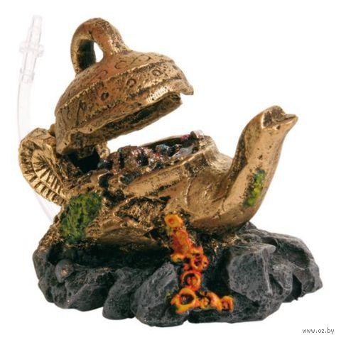 """Декорация для аквариума с воздухоотводом """"Волшебная лампа"""" (12 см)"""