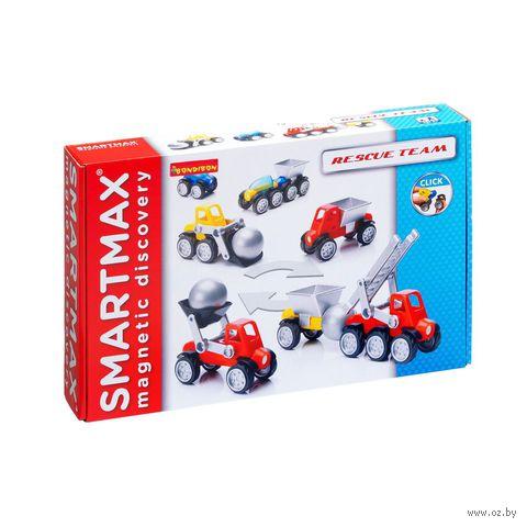 """Конструктор магнитный """"SmartMax. Службы спасения"""" (13 деталей) — фото, картинка"""