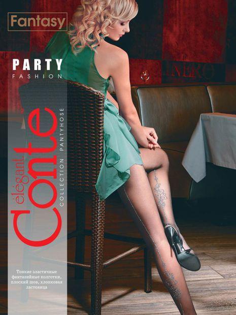 """Колготки женские фантазийные """"Conte. Party"""""""
