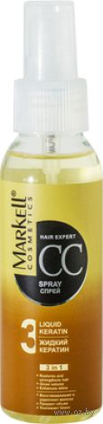 "CC-спрей для волос ""Жидкий кератин"" (100 мл)"