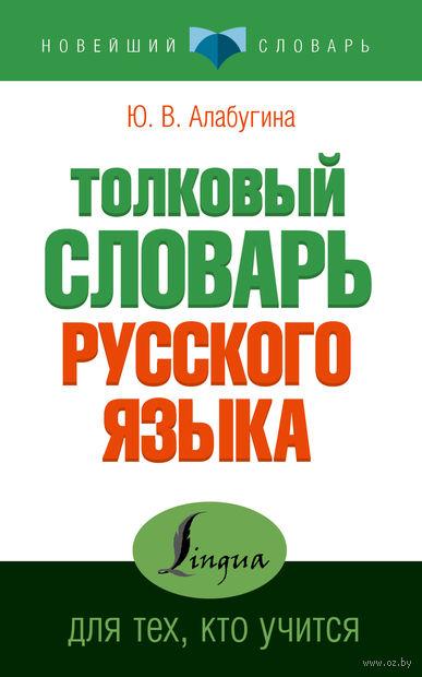 Толковый словарь русского языка для тех, кто учится. Юлия Алабугина