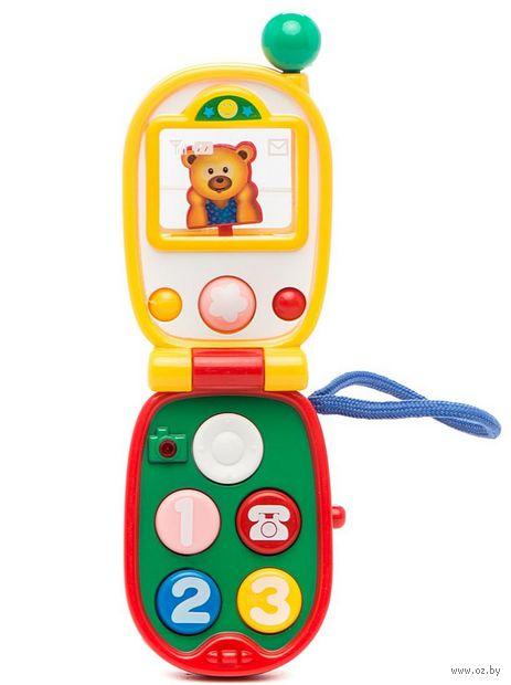 """Музыкальная игрушка """"Мобильный телефон"""" (со световыми эффектами)"""