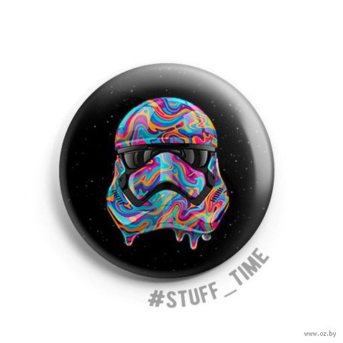 "Значок маленький ""Star Wars. Штурмовик"" (арт. 929) — фото, картинка"