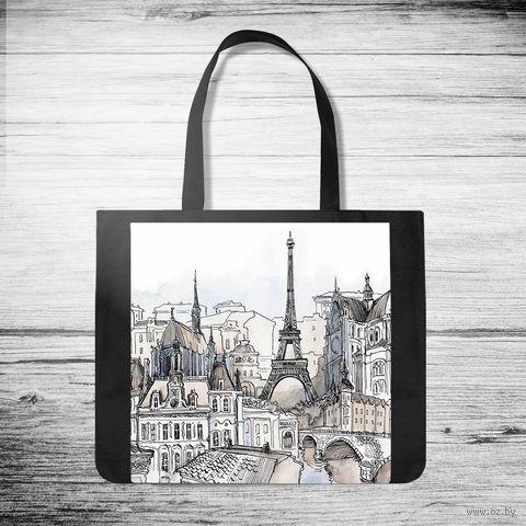 """Сумка-шоппер """"Paris"""" — фото, картинка"""