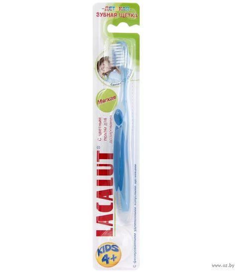 """Детская зубная щетка """"Lacalut. Kids 4+"""" — фото, картинка"""
