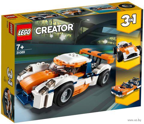 """LEGO Creator """"Оранжевый гоночный автомобиль"""" — фото, картинка"""