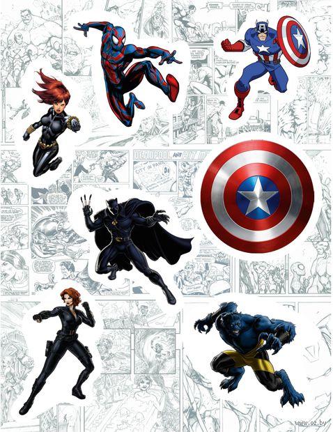 "Набор виниловых наклеек №131 ""Marvel"""