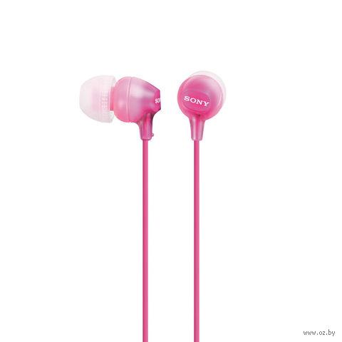 Наушники Sony MDR-EX15LP/P (розовые) — фото, картинка