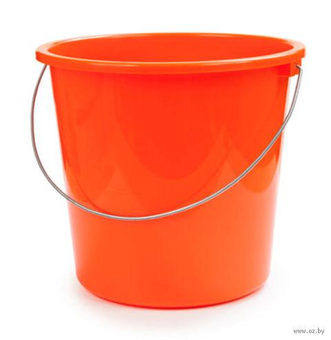 Ведро (7 л; мандарин) — фото, картинка