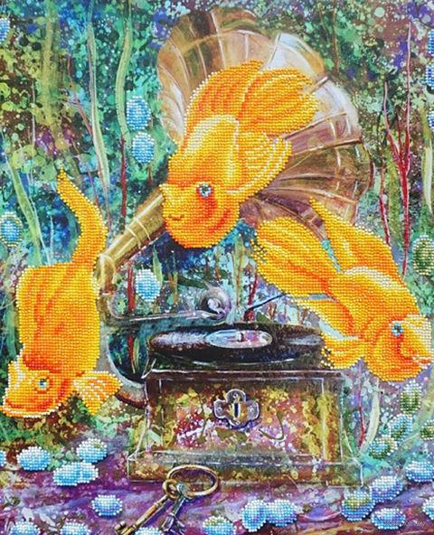 """Алмазная вышивка-мозаика """"Симфония океана"""" (400х500 мм) — фото, картинка"""