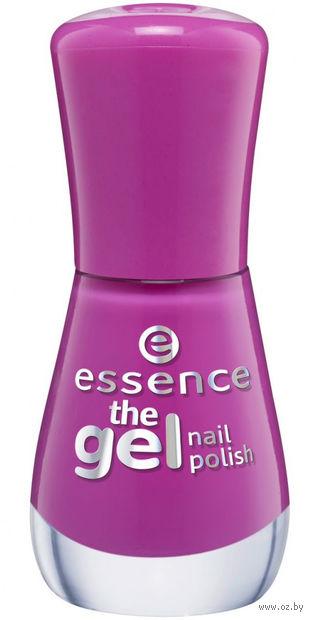 """Лак для ногтей """"The gel nail polish"""" тон: 95, vibrant purple — фото, картинка"""
