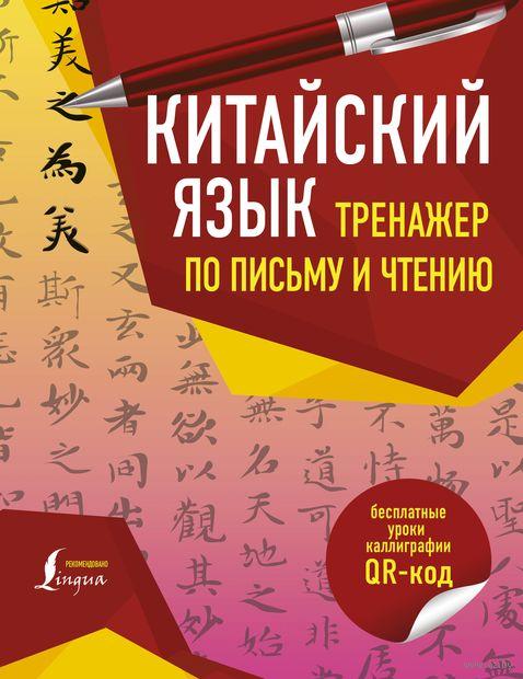 Китайский язык. Тренажер по письму и чтению — фото, картинка
