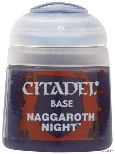"Краска акриловая ""Citadel Base"" (naggaroth night; 12 мл) — фото, картинка"