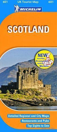 Scotland: UK Tourist Map — фото, картинка