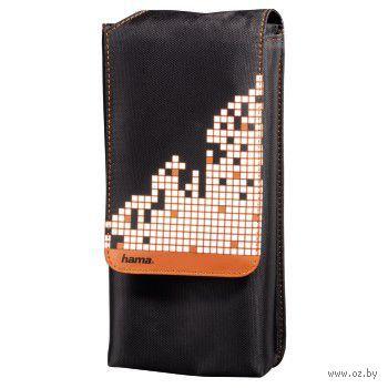Сумка HAMA Pixel Smash для PS Vita (ACPSV32, черный/оранжевый)