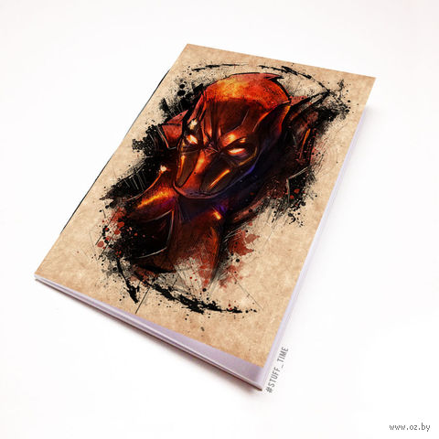 "Блокнот крафт ""Дэдпул"" (А7; арт. 903) — фото, картинка"