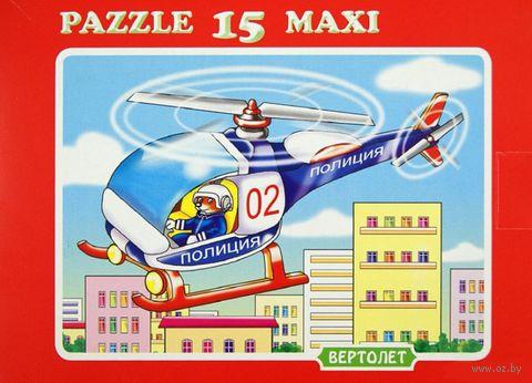 """Пазл maxi """"Вертолет"""" (15 элементов) — фото, картинка"""