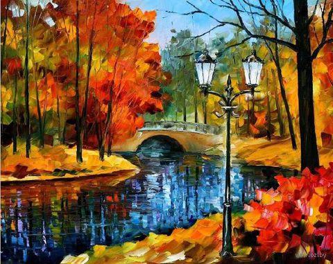 "Картина по номерам ""Осенний парк"" (400х500 мм) — фото, картинка"
