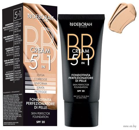 "BB крем для лица ""BB Cream Foundation"" SPF 20 (тон: 02, бежевый) — фото, картинка"