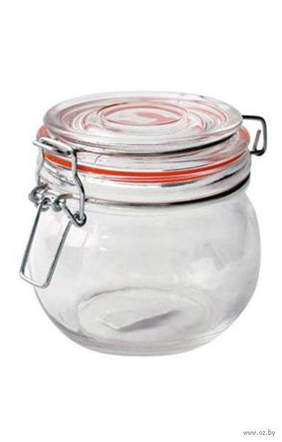 Банка для сыпучих продуктов стеклянная (450 мл; арт. 350670) — фото, картинка