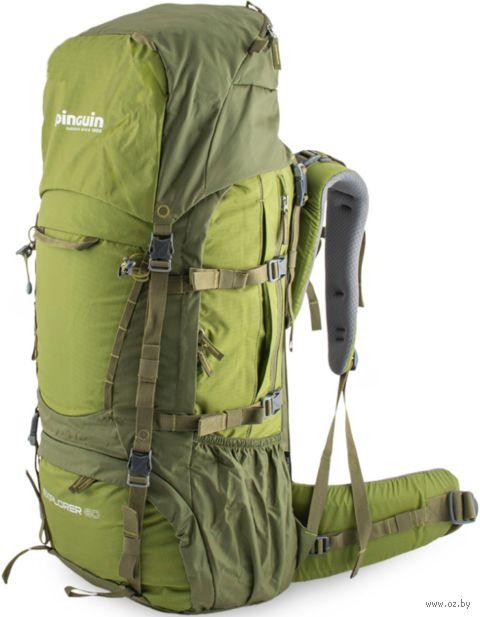 """Рюкзак """"Explorer 60"""" (60 л; зелёный) — фото, картинка"""