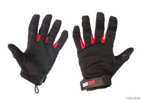 """Перчатки """"Talons"""" (XS; чёрно-красные) — фото, картинка"""