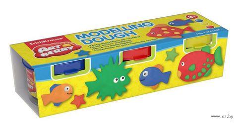 """Пластилин на растительной основе """"Modelling Dough №1"""" (3 цвета)"""